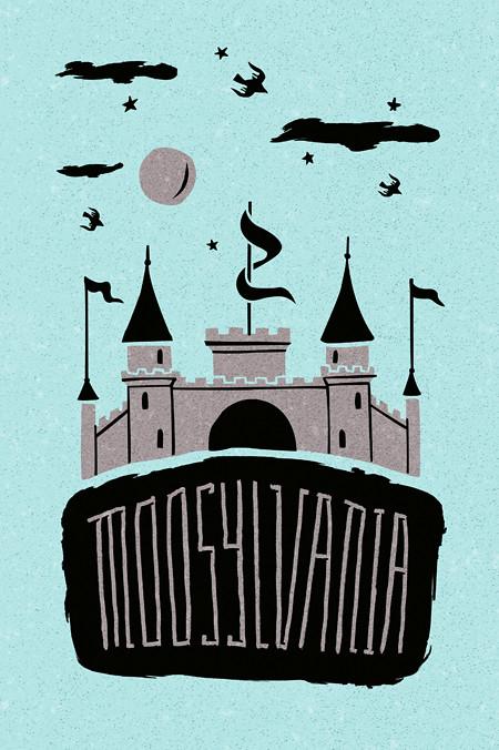 Moosylvania : Transylvania | t-shirt