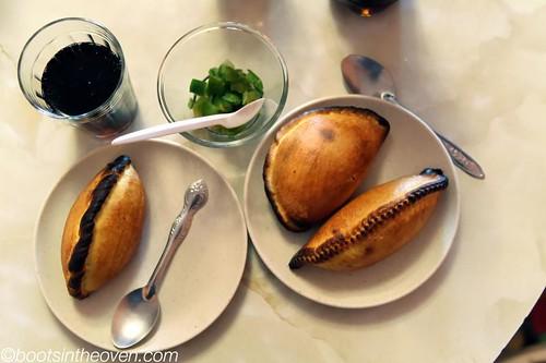 Salteñas from Paceña la Salteña