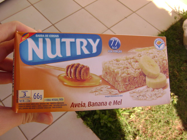 Barrinha de cereal Nutry