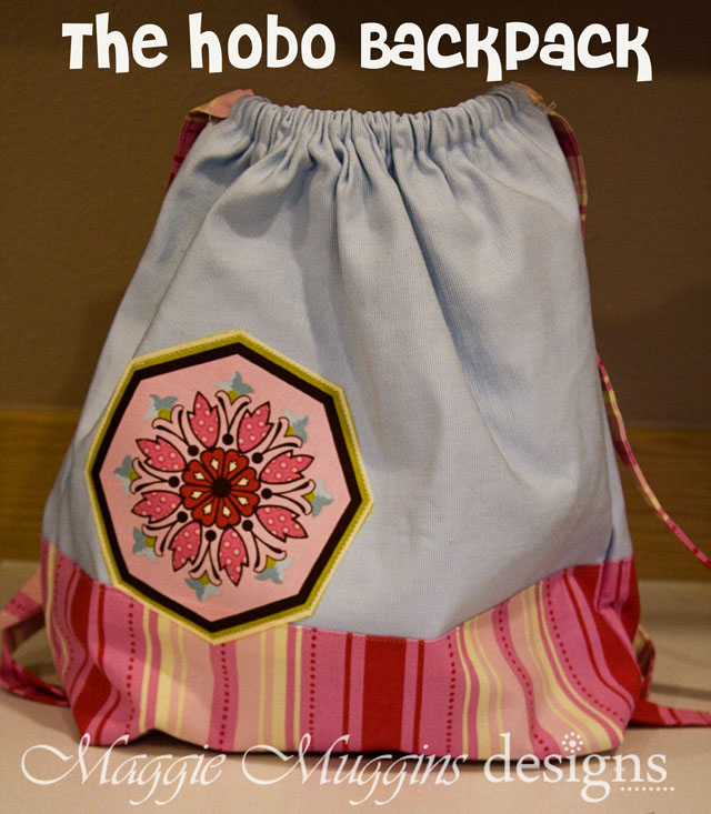 Hobo Backpack Front