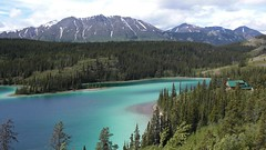 Emerald Lake in Yukon Canada