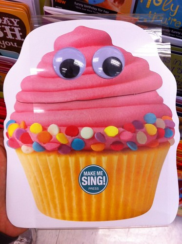 Singing Cupcake Birthday Card And 2 Other Cute Cards