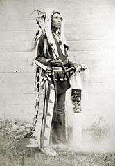 Buffalo Tail (orping) Tags: old vintage buffalo montana photos native fort indian tail photographs american tribes ft tribe ventre assiniboine reservation gros belknap grosventre
