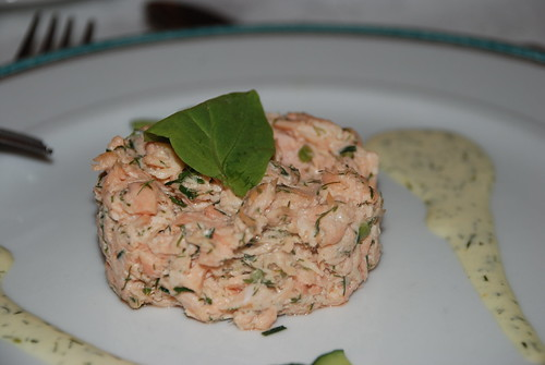 Salmon Patty w Fresh Dill