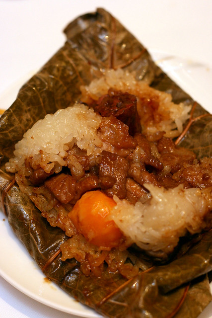 Chef Pei Ge's specialty 'Lor Mai Kai'