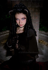 The Midnight Hunt (THE.ORY) Tags: beauty model eyes magic gothic victorian horns theory fantasy glam alternative