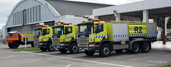 RNZAF Base Ohakea Fire Fleet (111 Emergency) Tags: new fire force air royal zealand nz service section scania brigade rnzaf ohakea
