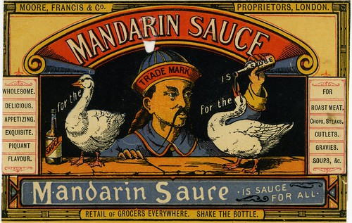 Mandarin Sauce label by adambangor