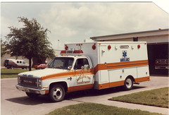 Mesquite, Texas Fire Dept.- 1981 Chevy/Starline, MICU (Dr. Mo) Tags: chevrolet texas ambulance mesquite 1981 emergency firefighter ems firedepartment procar micu starline drmo robertknowles