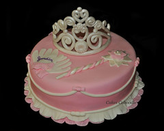 Princess Cake (Cakes Caboodle) Tags: cake princess wand gloves tierra
