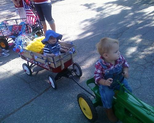 Kid's parade!