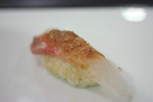 Madai (Red Snapper with Sesame Paste)
