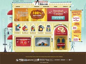 Manhattan Slots Casino Home