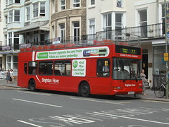 820 T820RFG (Ryanbus22) Tags: old bus buses sussex brighton hove south devils east steine route service dennis dyke 77 trident lancs brightonhove eastlancs dennistrident t820rfg dennistridenteastlancs