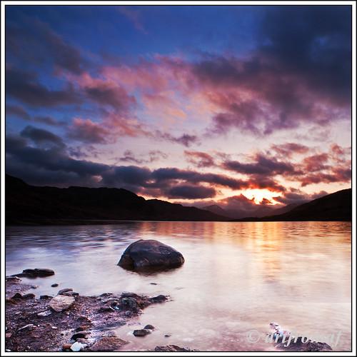 Loch Arklit. by artfromaf