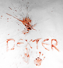 Dexter (tmv_media) Tags: pictures red white black art grey photo blood ketchup image sony picture experiment pic images photograph alpha dexter homage splatter a77 spatter sal2875 tomvooght slta77v downloadfrommyhead