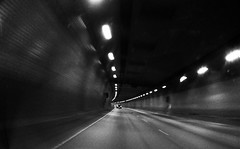Velocity (come_wat_may) Tags: bw blur me speed drive kev pleasure iphone4 haranotunnel olloclip3in1lensforiphone4wideangle