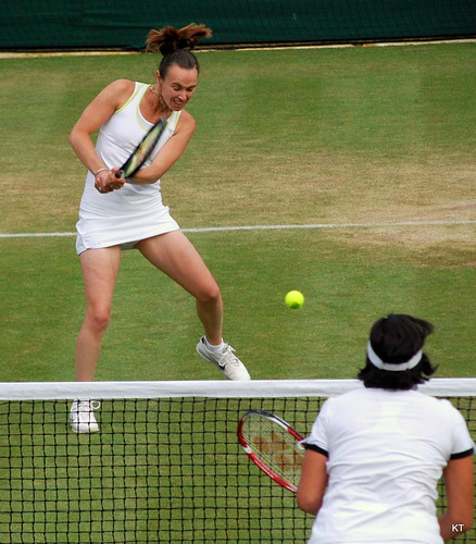 Gigi Fernandez - Martina Hingis & Gigi Fernandez