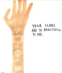 To me. (swall0wedinthesea) Tags: art beautiful beauty watercolor mine arms arm suicide cutting wrist sharpie scar scars wrists selfharm