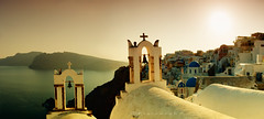 Cycladic Chapels (Faddoush) Tags: bells nikon churches hellas chapels santorini greece oia cyclades colorphotoaward