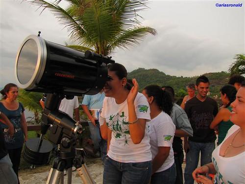 Tránsito de Venus, observación desde Ocotal, Guanacaste