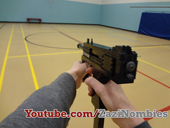 Lego PM9 Submachine gun Replica (ZaziNombies) Tags: call gun lego duty smg submachine mw3 pm9