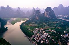 2014 9 Xing Ping (6) (SirLouisLau95) Tags: china mountain spring guilin yangshuo     xingping
