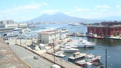La  Mia Napoli (gennaro49.daria) Tags: panorama napoli palazzoreale piazzadelplebiscito galleriaumberto gennarodaria