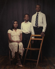 Modern Family (Imperious_Images) Tags: vintage african mother american single africanamerican blackhistory blackisbeautiful alienskin singlemother strobist ab800 octabox ab400 exposure4 radiopoppers