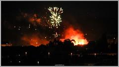 Bonfires of the Saint John (malioli) Tags: city night canon town europe place fireworks ivan croatia stjohn tradition grad kupa gaza hrvatska rakete karlovac banija tradicija krijes karlovec ivanje bonifires ivanjskikrijes varomet