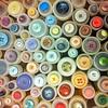 knappar (vanhalen) Tags: buttons colourful färg loppis fynd knappar