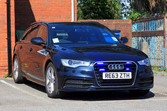 RE63 ZTH (S11 AUN) Tags: sussex police audi a6 30 tdi quattro avant estate anpr traffic car rpu roads policing unit 999 unmarked emergency vehicle
