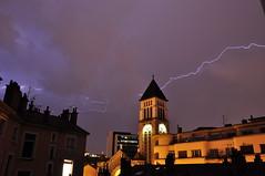 Tempestes elctriques (inami_13) Tags: sky storm rain lights luces lluvia cel cielo tormenta lightning rayo llums tempesta relmpago llamp pluja iluminacin illuminaci llampec