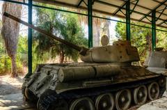 tank (3) (maskirovka77) Tags: israeldefenseforces idf museum idfmuseum tanks m48 outdoors hdr armoredcar artillery antiaircraft armoredpersonnelcarrier bridgingequipment