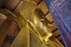 Fond Farewell (Swebbatron) Tags: bangkok thailand asia southeastasia temple recliningbuddha buddha city travel adventure lonelyplanet canon 1100d radlab 2015 watpho gettotallyrad