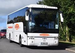 YJ09CZZ  Grayway, Wigan (highlandreiver) Tags: yj09czz yj09 czz grayway coaches tours wigan lancashire van hool bus coach gretna scotland scottish