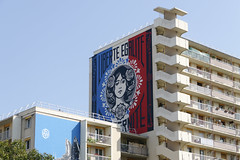 Shepard Fairey (Sbastien Casters (browse by artist)) Tags: shepard fairey paris france streetart street art graffiti graffitis urbain urbanexploration urban
