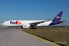 N869FD (Airlinerphotos.de) Tags: b777200 fedex muc