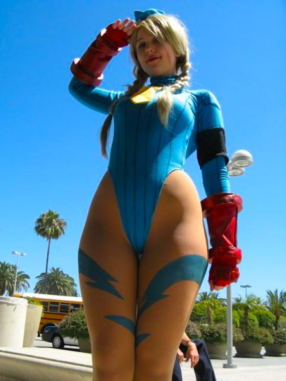 3d street fighter cammy 3