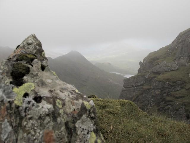 la vallée du mont snowdon