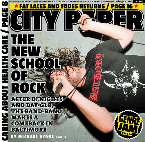 citypaper new school of rock cover