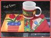 MUG_RUG TULIPAS (Atelie Tati Artes by Tatiana Behle) Tags: de tulipas patchwork tapete caneca tulipa chá mugrug arttoheart tapetedecaneca descançodecaneca descançodexicara tapetinhoparaxícara patchworkcountry