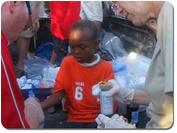 IBO Clarence Freed – First-Responder in Haiti