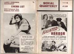 SERIAL QUARTERLY No 4 (Pagan555) Tags: movies serials fanmags hauntedharbor