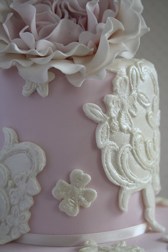 Lace mold by Cotton and Crumbs