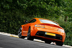 Orange Stuff #5 ([ JR ]) Tags: auto orange car canon eos martin jr spot exotic mans le 200 l 17 28 50 tamron 70 rare f4 aston spotting vantage sighting v12 wagen 2011 550d supercare
