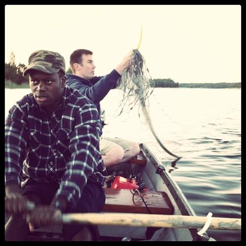 Midnight fishing (11pm) #midsummer
