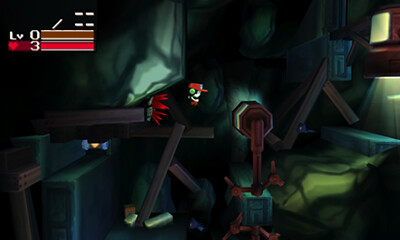 Cave Story 3D - First Cave