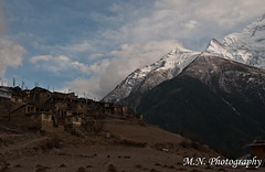 What a view... (Meir Naamat) Tags: nepal himalaya כפר upperpisang הרים עתיק aroundannapurnatrack