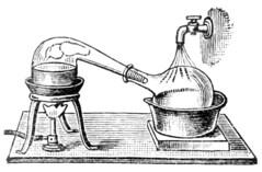 Alembic distillery